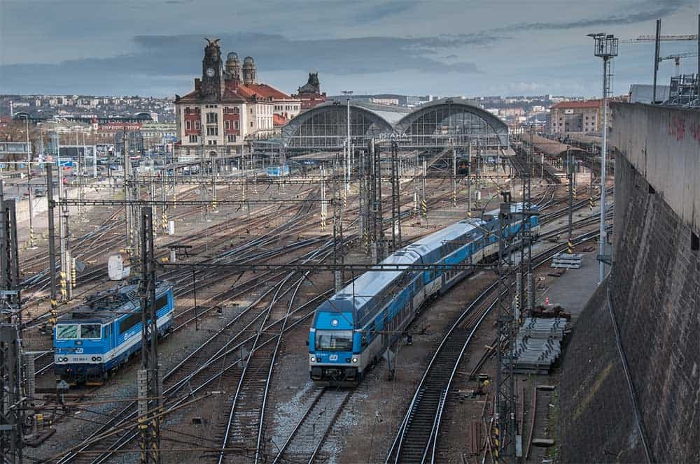 Prague Train Station