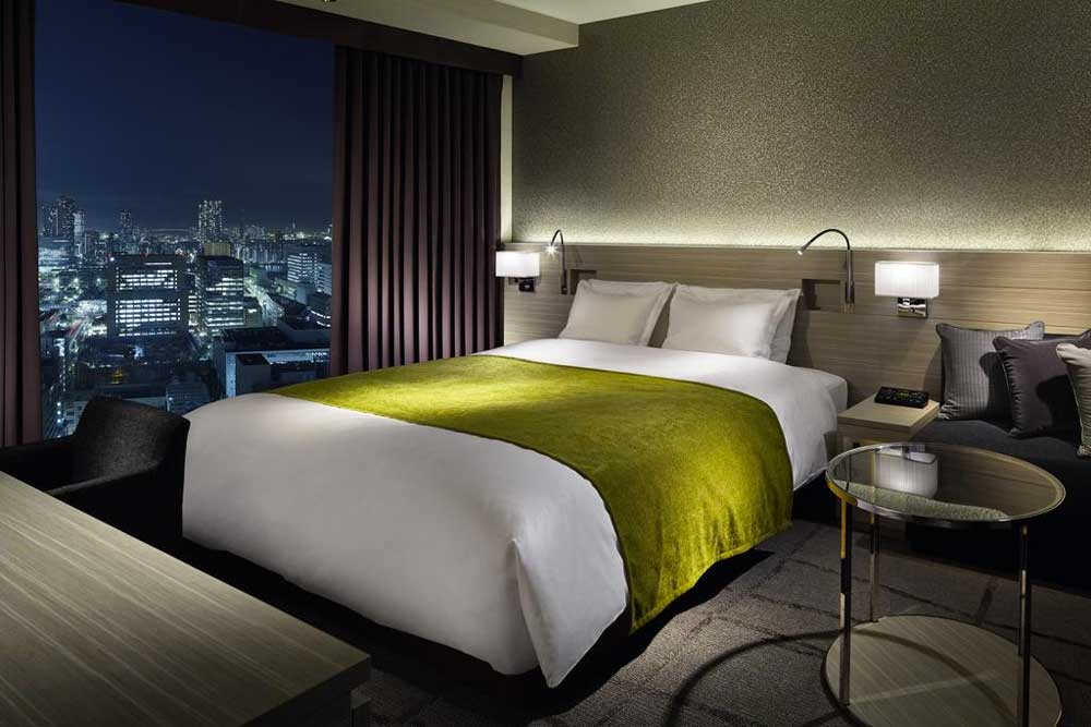 Premier Double Room at Mitsui Garden Hotel Ginza Premier
