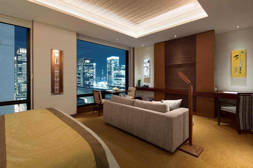Premier King Room at The Peninsula Tokyo