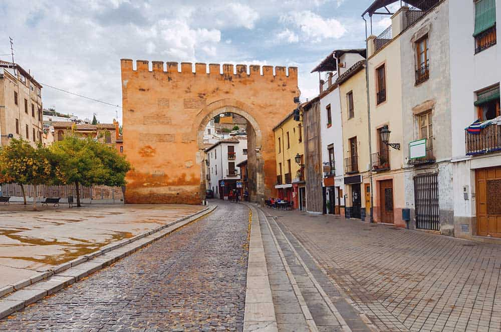 Puerta de Elvira in Granada