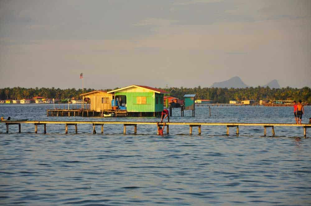 Pulau Mabul in Sabah, Malaysia