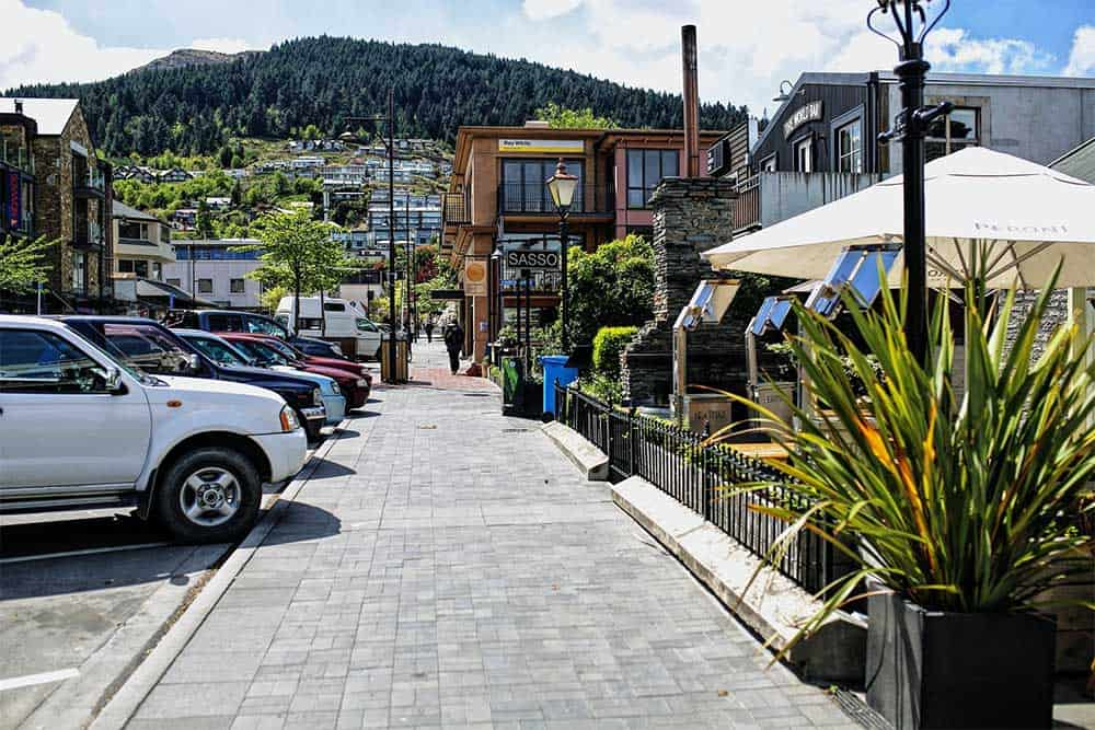 Downtown Queenstown Central Business District
