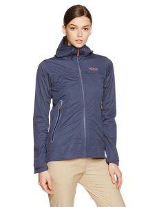 Rab Kinetic Plus Lightweight Rain Jacket Women
