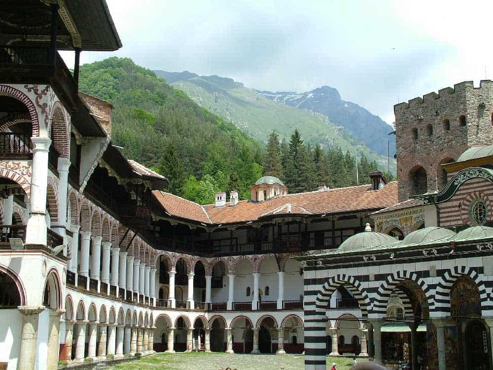 Rila Monastery near Sofia, Bulgaria