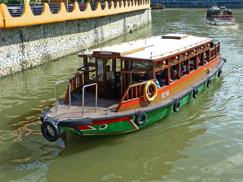 River Taxi in Singapore