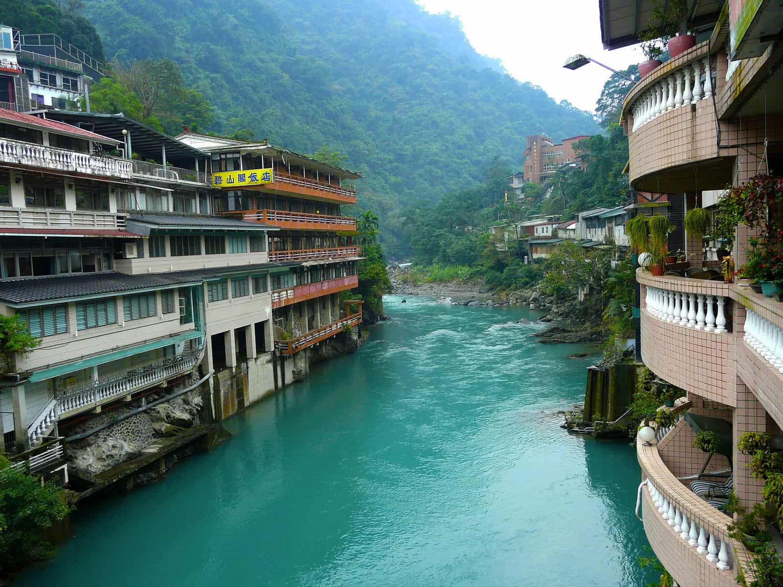 River through Wulai, Taiwan