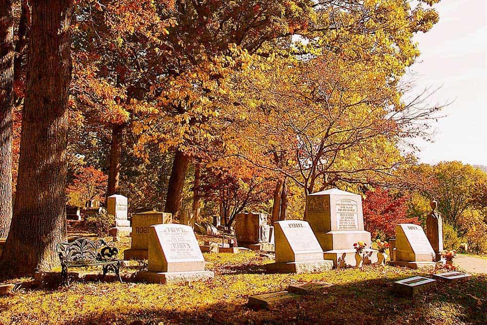 Riverside Cemetery in Montford Area Historic District
