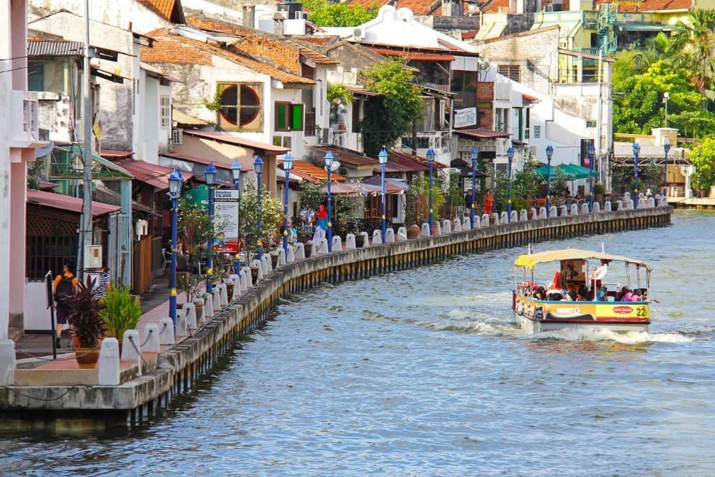 Riverside Walk in Melaka