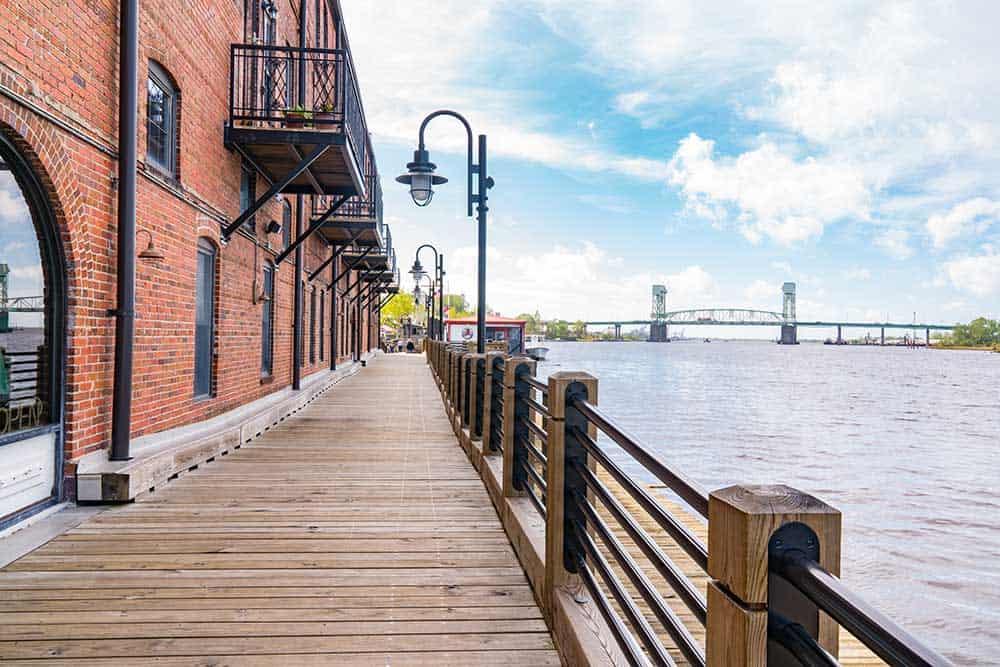 Riverwalk in Wilmington, NC