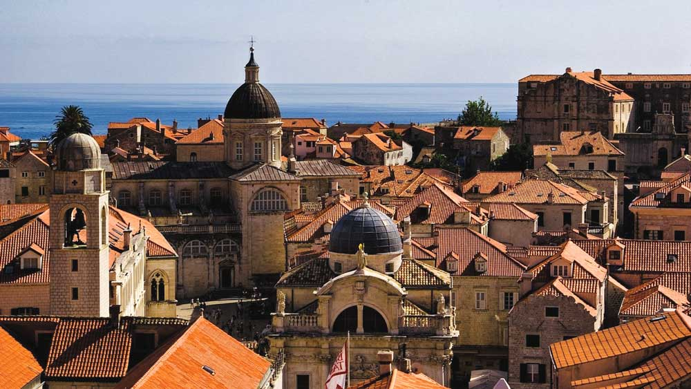 Rooftops in Old Town, Dubrovnik