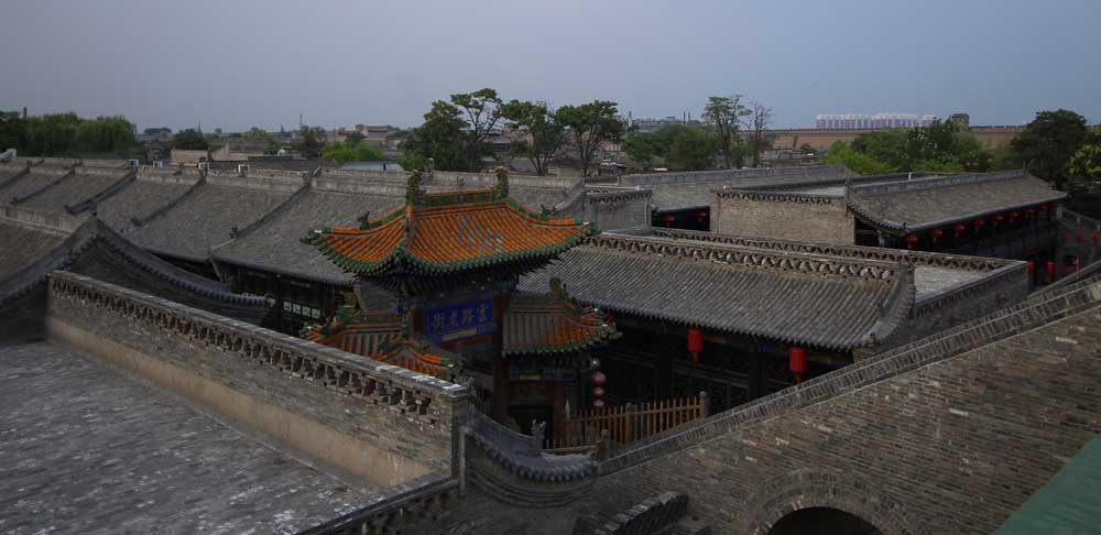 Rooftops in Pingyao Ancient City