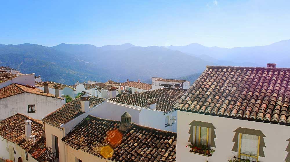 Rooftops in Ronda, Spain