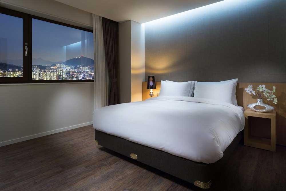 Room @ Amanti Hotel Seoul in Hongdae, Seoul, Korea