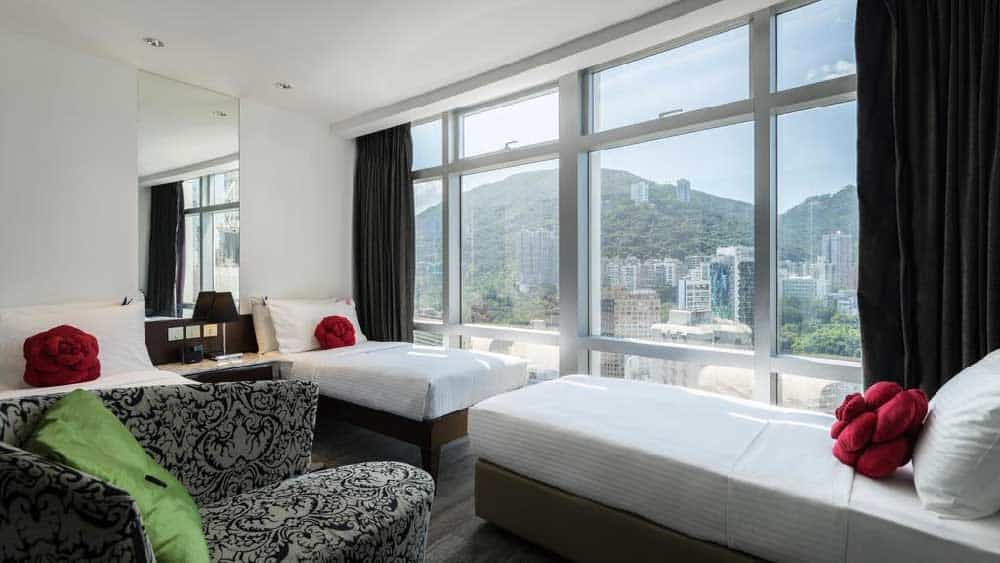 Room @ Butterfly on Morrison Boutique Hotel in Wan Chai, Hong Kong