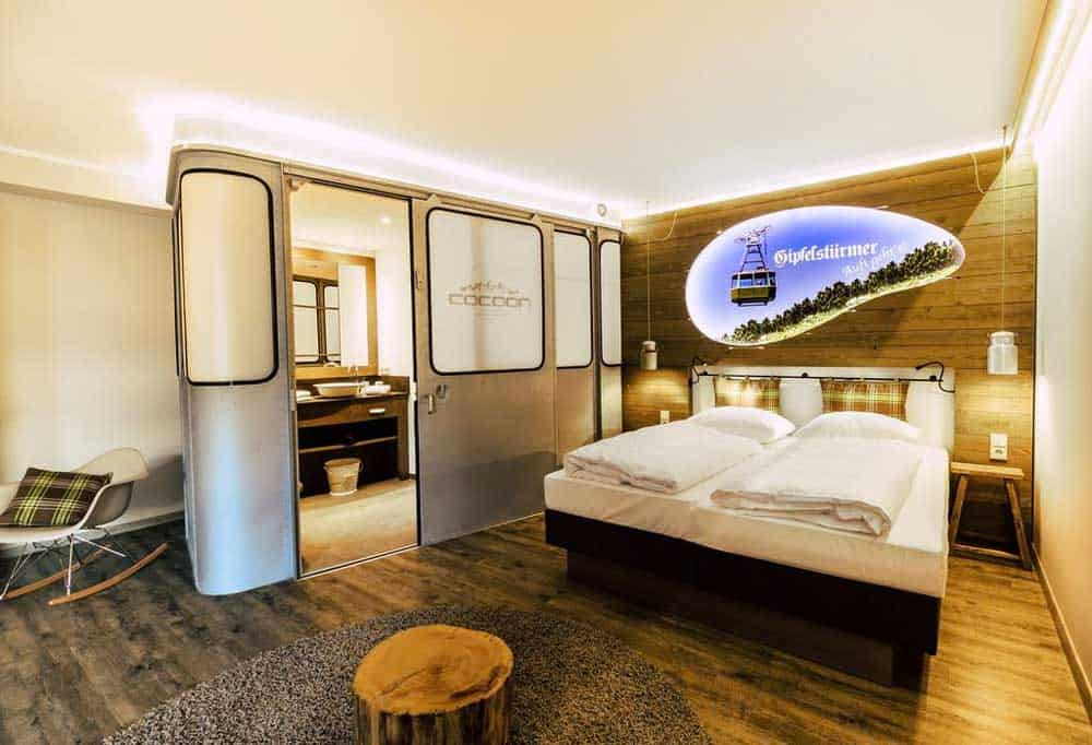 Room at Cocoon Hauptbahnhof in Munich, Germany