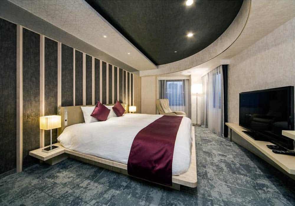 Room @ Daiwa Roynet Hotel Ginza in Tokyo, Japan