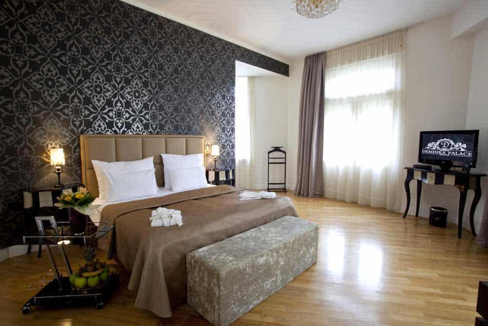 Room @ Demnika Palace in Prague, Czech Republic