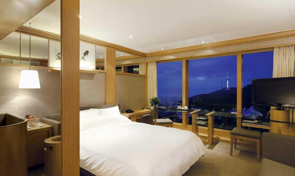 Room @ Grand Hyatt Seoul in Yongsan, Seoul, Korea