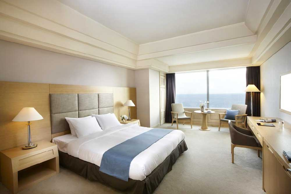 Room @ Haeundae Grand Hotel in Busan, Korea