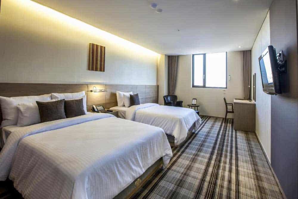 Room @ Hamilton Hotel in Itaewon, Seoul, Korea