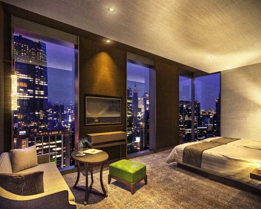 Room @ Hotel The Celestine Ginza