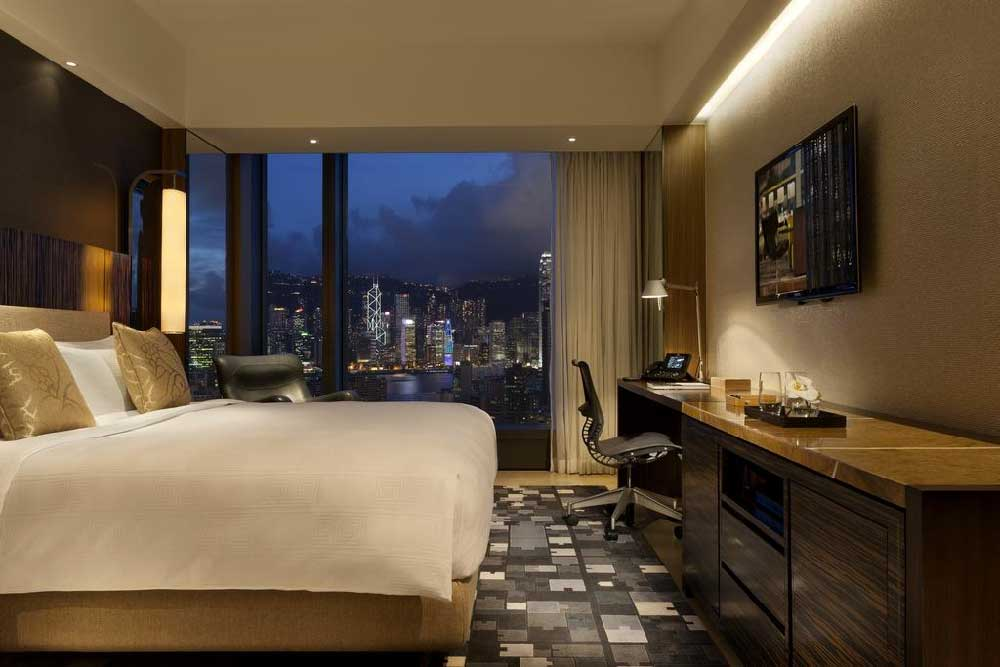 Room @ Hotel ICON in Tsim Sha Tsui