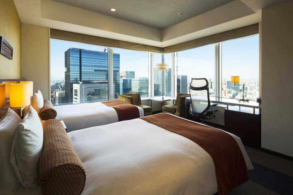 Room @ Hotel Metropolitan Tokyo Marunouchi in Tokyo, Japan