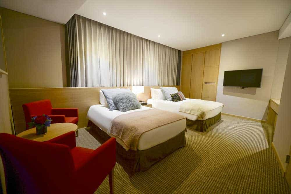 Room @ Hotel New Oriental Myeongdong