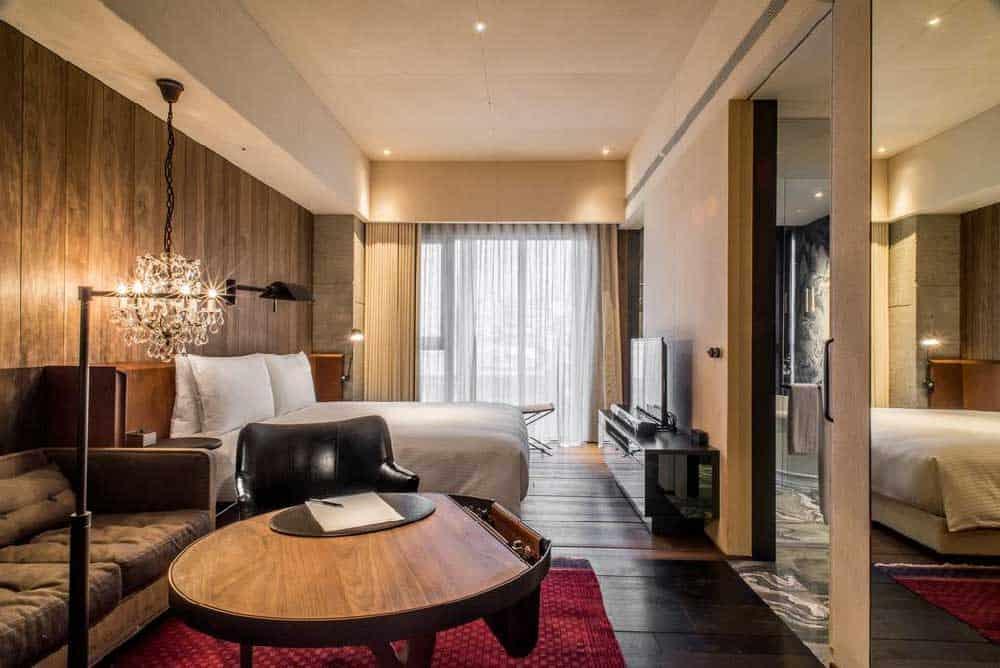 Room @ Hotel Proverbs Taipei in Taipei, Taiwan