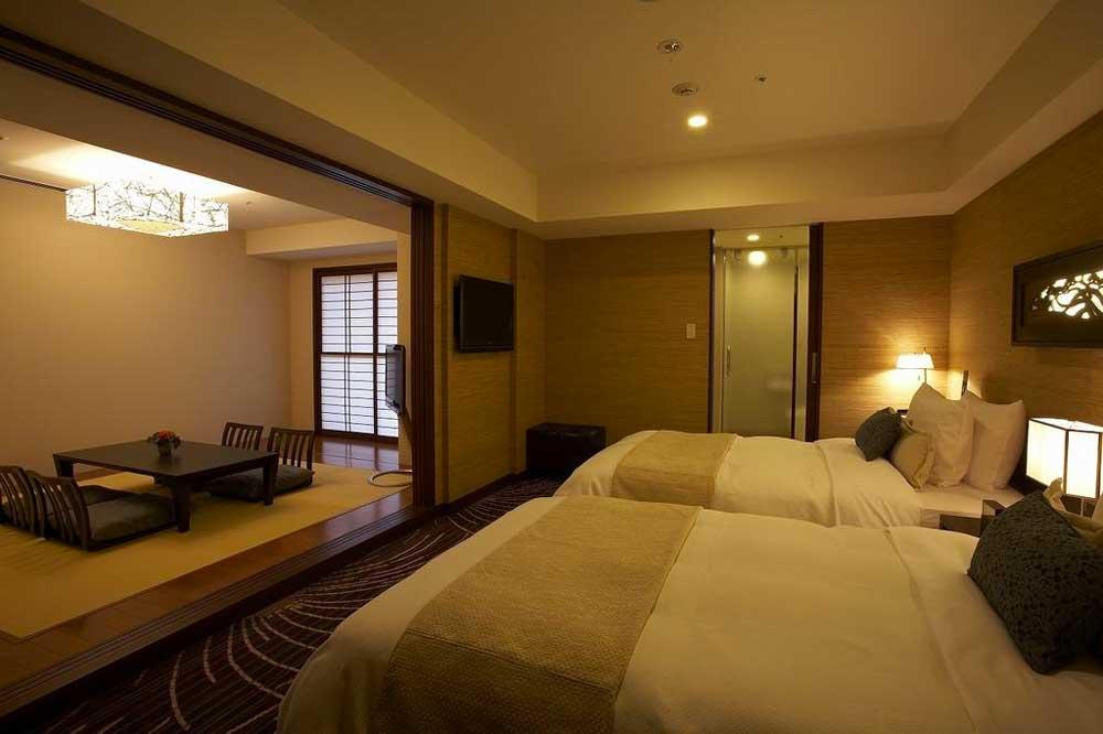 Room @ Hotel Ryumeikan Tokyo in Tokyo, Japan