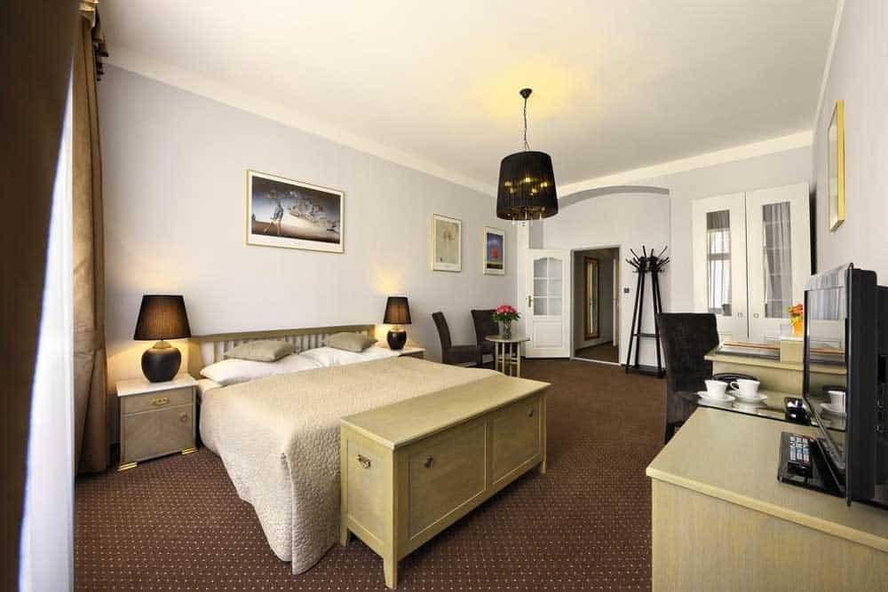 Room @ Hotel Salvator in Prague, Czech Republic