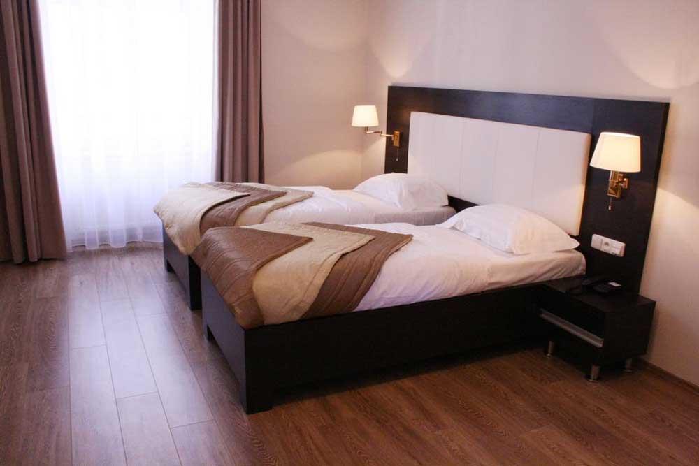 Room @ Hotel Sunrise in Prague, Czech Republic