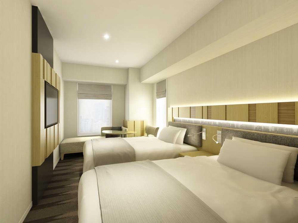 Room @ Hotel Sunroute Ginza