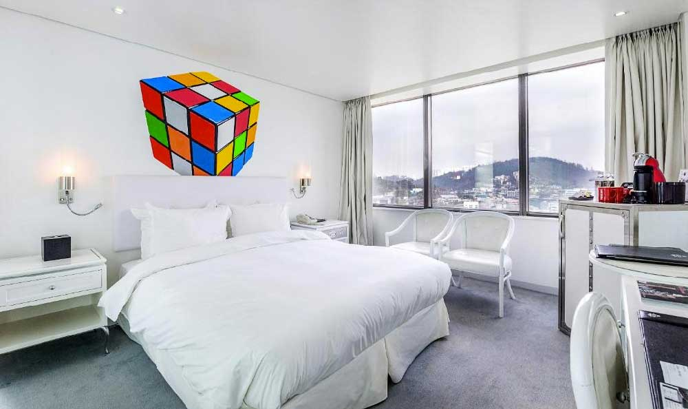 Room @ Imperial Boutique Hotel in Itaewon, Seoul, Korea