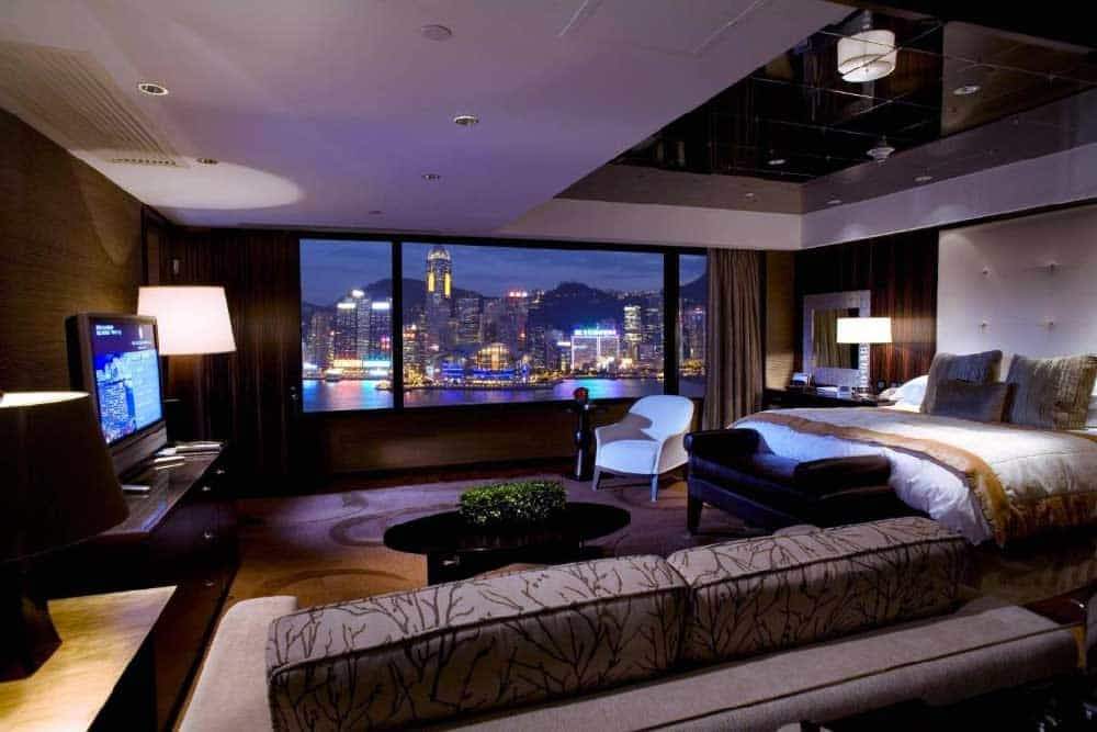 Room @ InterContinental Hong Kong in Kowloon, Hong Kong