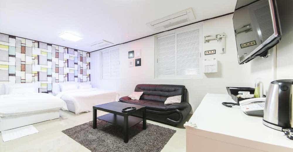 Room @ Itaewon A One Hotel in Itaewon, Seoul, Korea