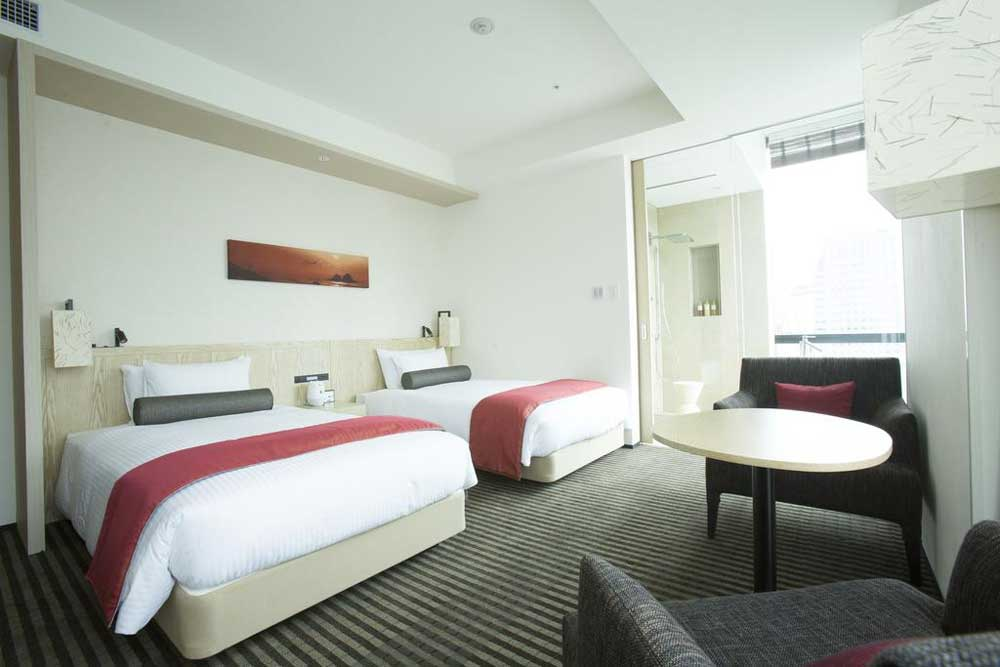 Room @ JR Kyushu Hotel Blossom Shinjuku in Tokyo, Japan