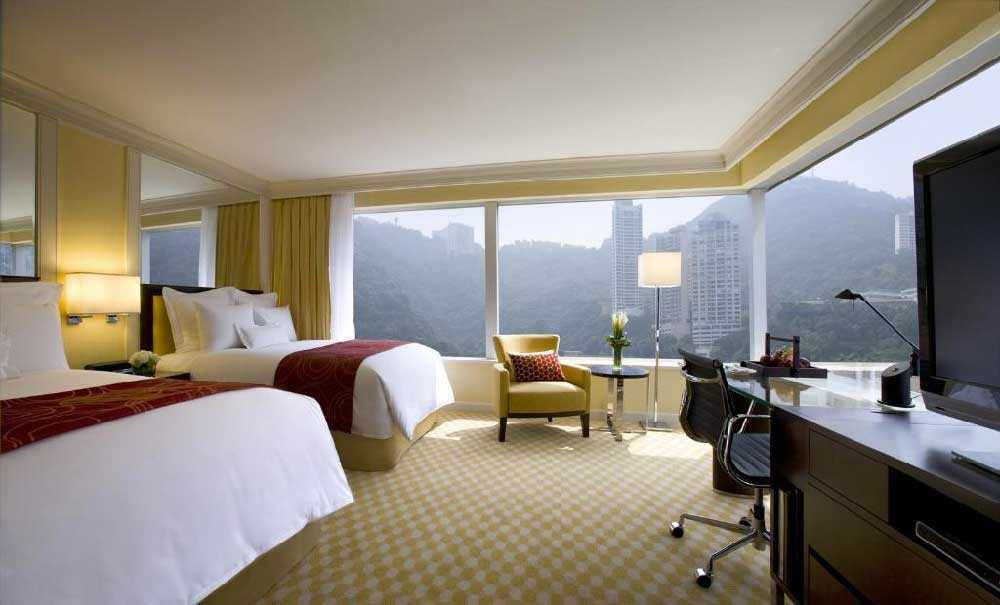 Room @ JW Marriott Hong Kong