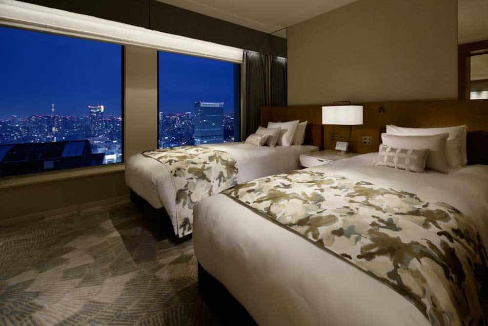 Room @ Keio Plaza Hotel Tokyo Premier Grand in Shinjuku, Tokyo, Japan