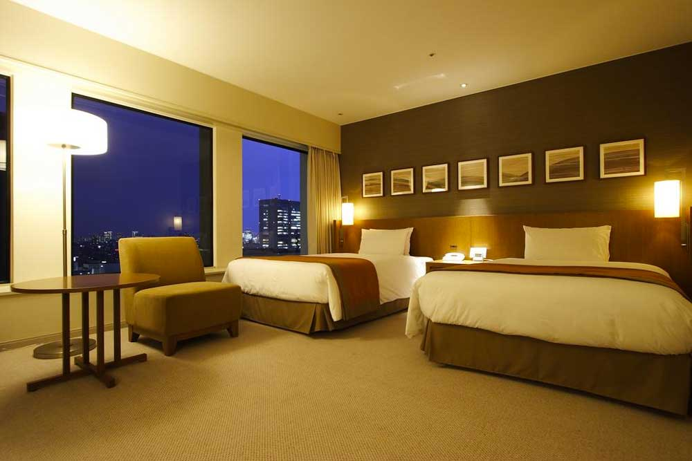 Room @ Keio Plaza Hotel Tokyo in Shinjuku, Tokyo, Japan