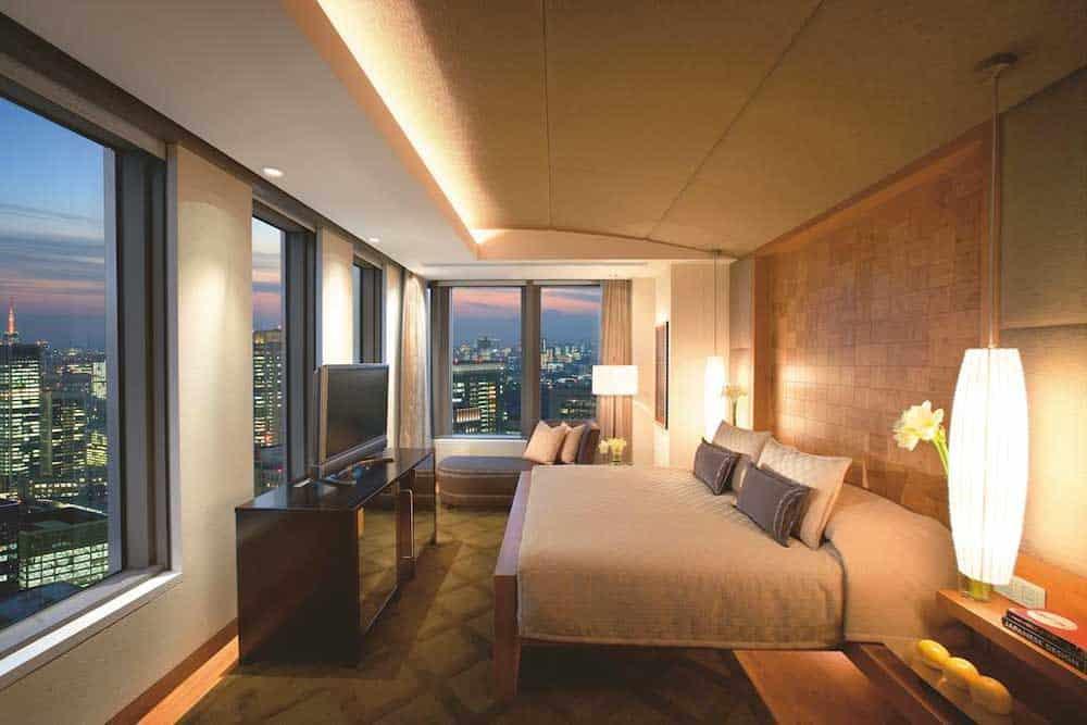 Room @ Mandarin Oriental Tokyo in Tokyo, Japan