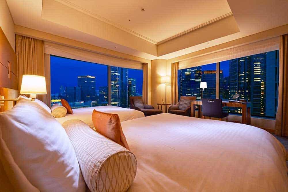 Room @ Marunouchi Hotel Tokyo in Tokyo, Japan