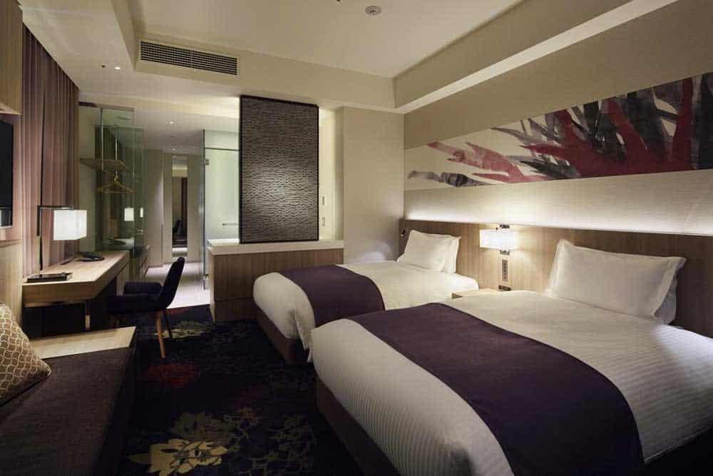 Room Millennium Mitsui Garden Hotel Tokyo in Ginza, Tokyo, Japan