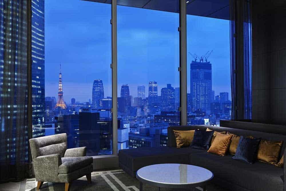 Room @ Mitsui Garden Hotel Premier Ginza in Ginza, Tokyo, Japan