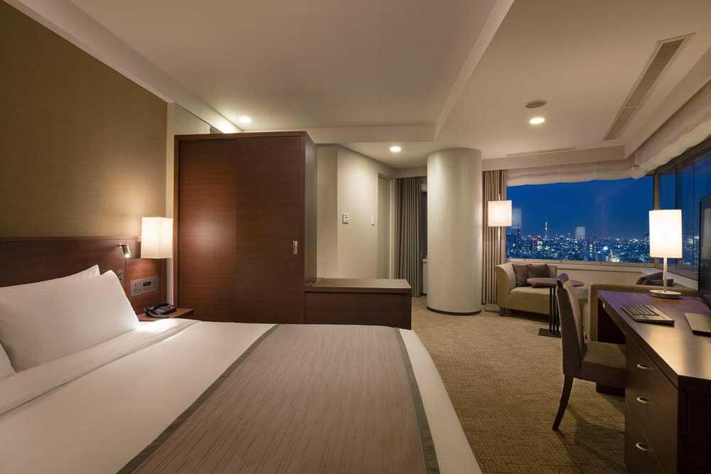Room @ Odakyu Hotel Century Southern Tower in Shibuya, Tokyo, Japan