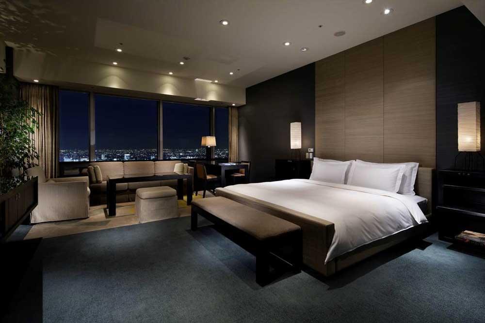 Room @ Park Hyatt Tokyo in Shinjuku, Tokyo, Japan