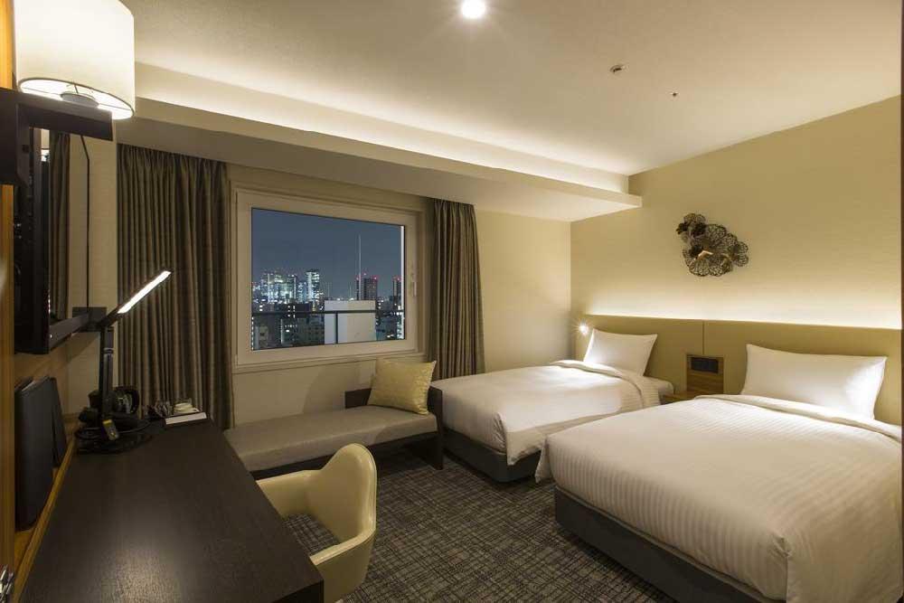Room @ Premier Hotel Cabin Osaka