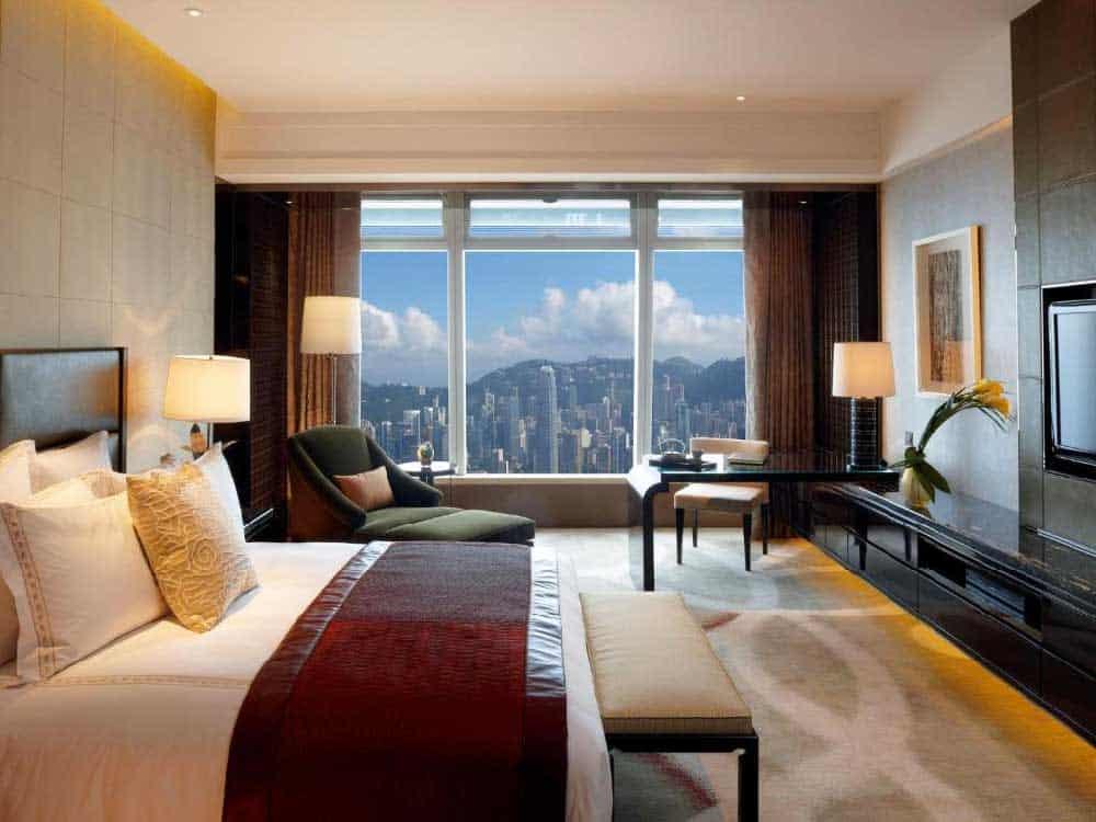 Room @ The Ritz-Carlton Hong Kong in Kowloon, Hong Kong