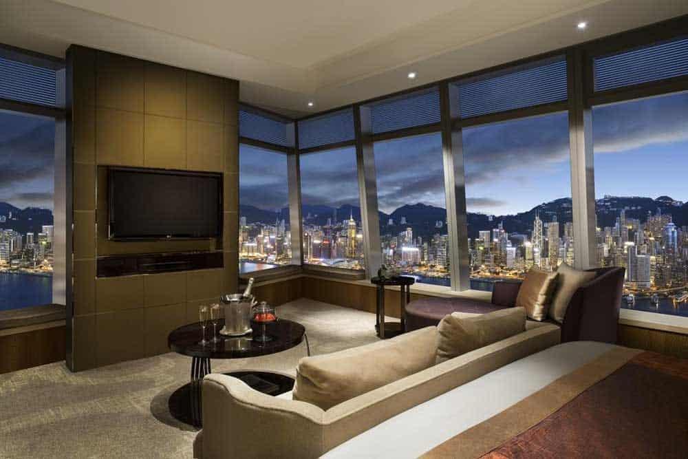 Room at The Ritz Carlton Hong Kong