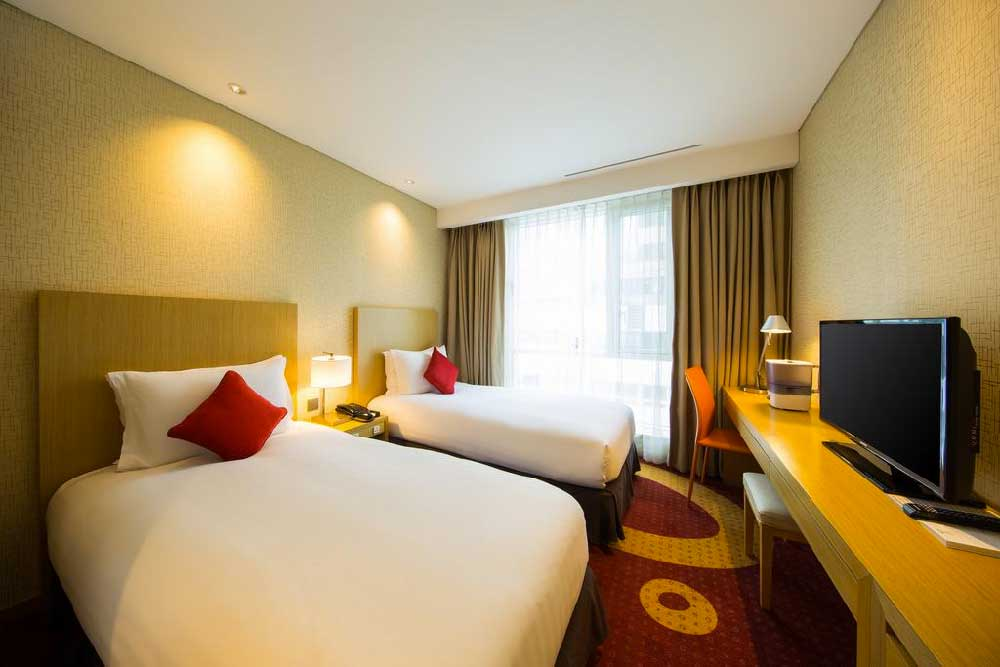 Room @ Solaria Nishitetsu Hotel Busan in Busan, Korea